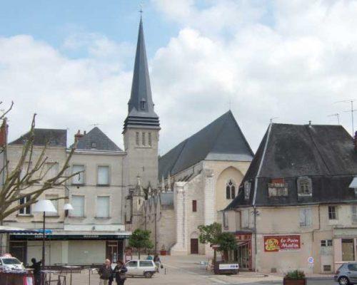 Issoudun-kirche